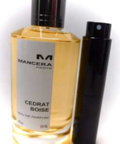 Mancera Cedrat Boise 8mL Parfum Travel Atomizer Sample Cologne Lemon Vanilla new