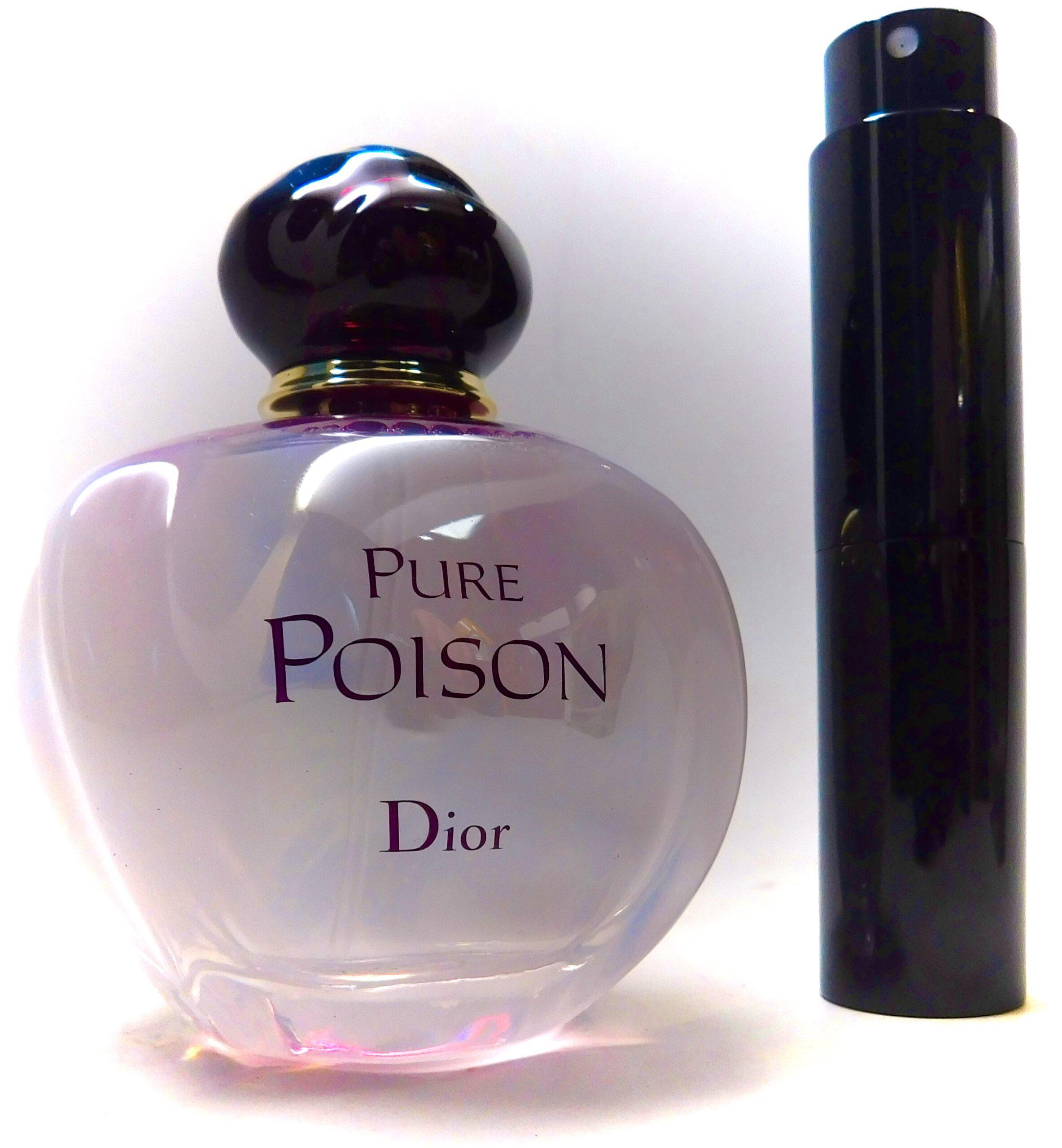 Christian Dior Pure Poison Parfum 8ml Travel Atomizer Floral