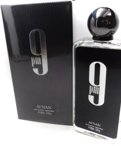 Afnan 9 Pm Black Cologne Eau de Parfum 3.4oz 100ml